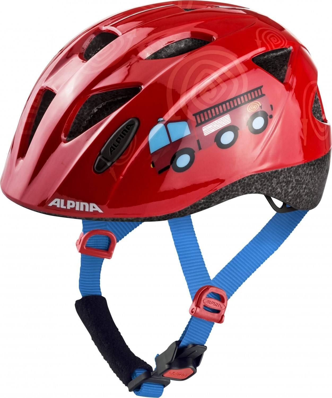 Fürfahrräder - Alpina Ximo Kinderfahrradhelm (Größe 47 51 cm, 54 firefighter) - Onlineshop