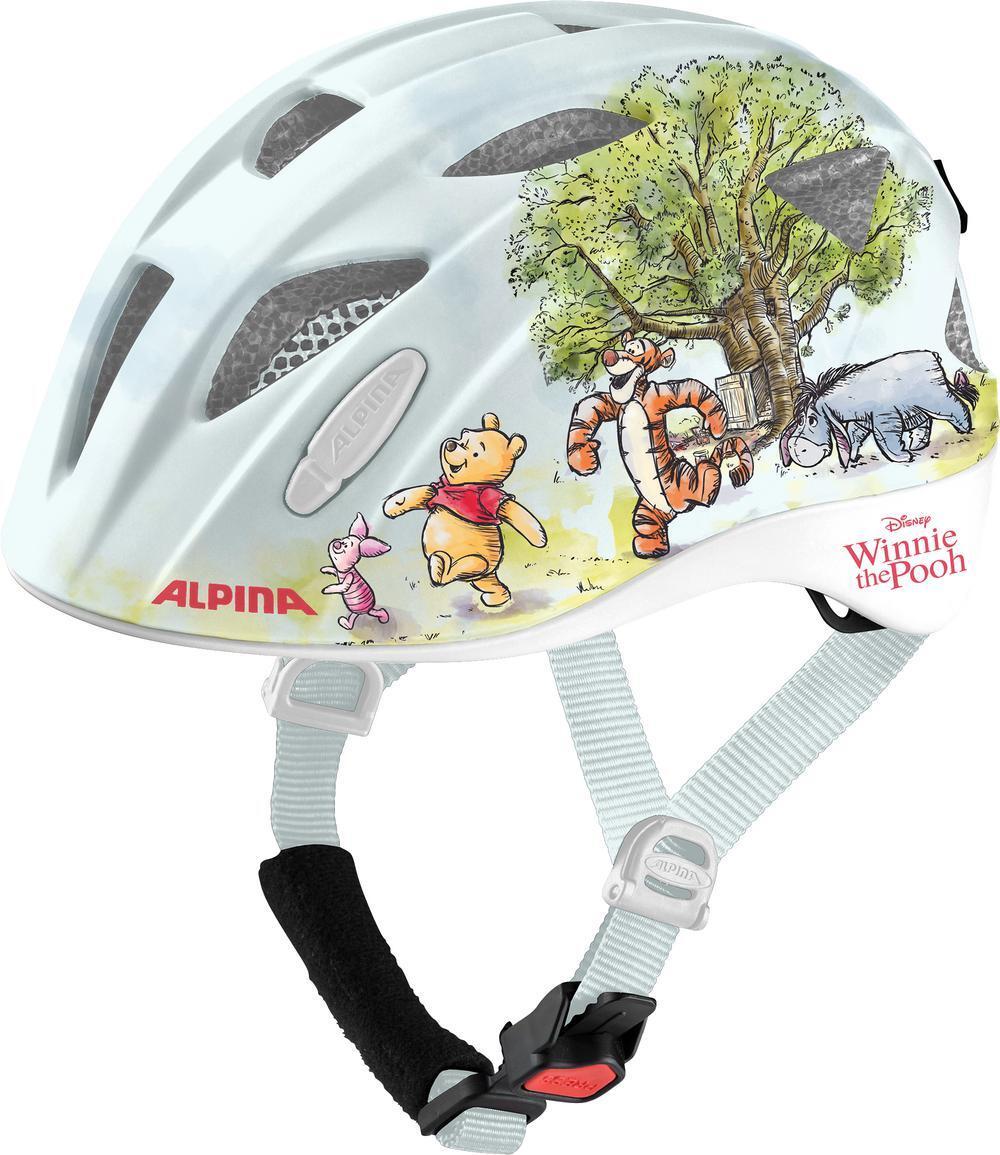 Fürfahrräder - Alpina Ximo Kinder Fahrradhelm (Größe 49 54 cm, 51 Winni Pooh gloss) - Onlineshop
