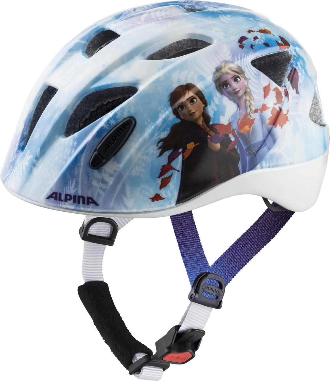 Fürfahrräder - Alpina Ximo Kinder Fahrradhelm (Größe 49 54 cm, 60 Frozen II) - Onlineshop