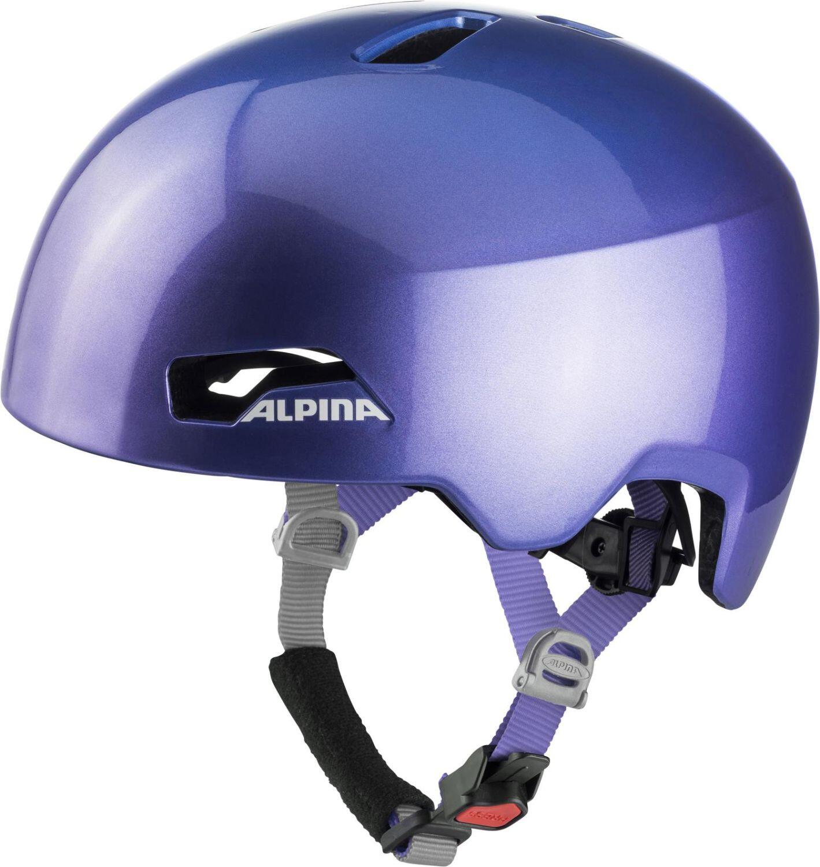 Fürfahrräder - Alpina Hackney Fahrradhelm (Größe 51 56 cm, 05 flip flop purple) - Onlineshop