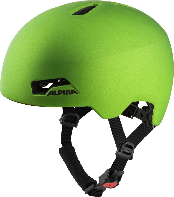 Fürfahrräder - Alpina Hackney Fahrradhelm (Größe 51 56 cm, 70 green frog matt) - Onlineshop