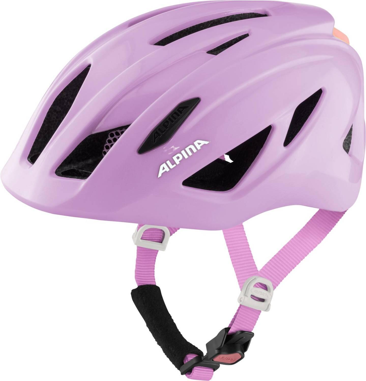 Fürfahrräder - Alpina Pico Kinder Fahrradhelm (Größe 50 55 cm, 52 rose gloss) - Onlineshop
