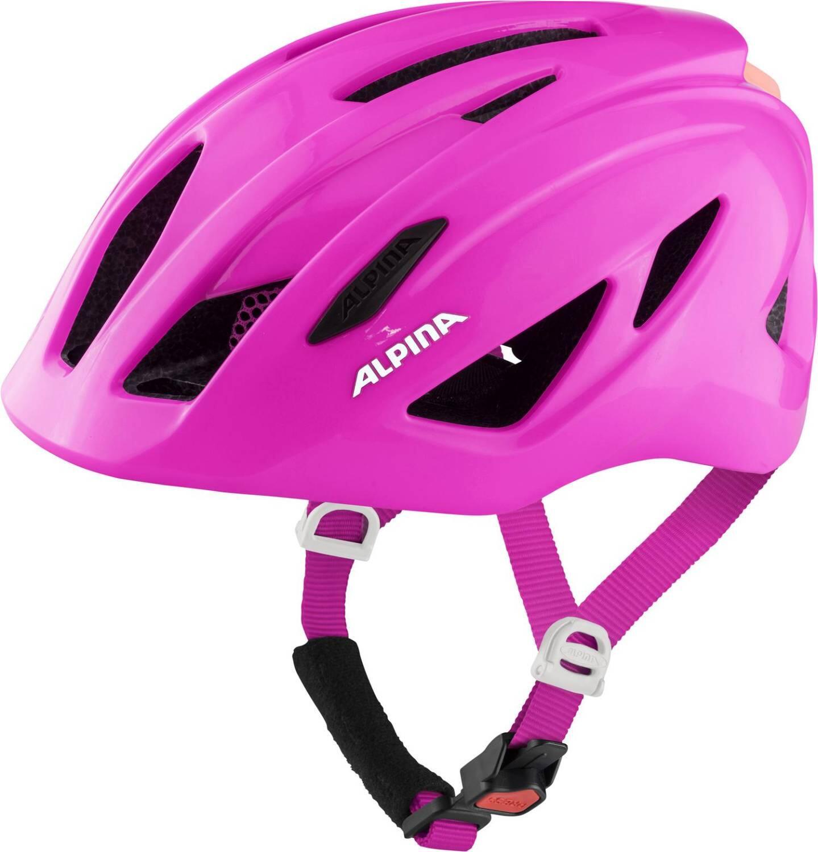 Fürfahrräder - Alpina Pico Flash Kinder Fahrradhelm (Größe 50 55 cm, 51 pink gloss) - Onlineshop