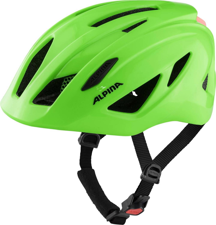 Fürfahrräder - Alpina Pico Flash Kinder Fahrradhelm (Größe 50 55 cm, 71 neon green gloss) - Onlineshop