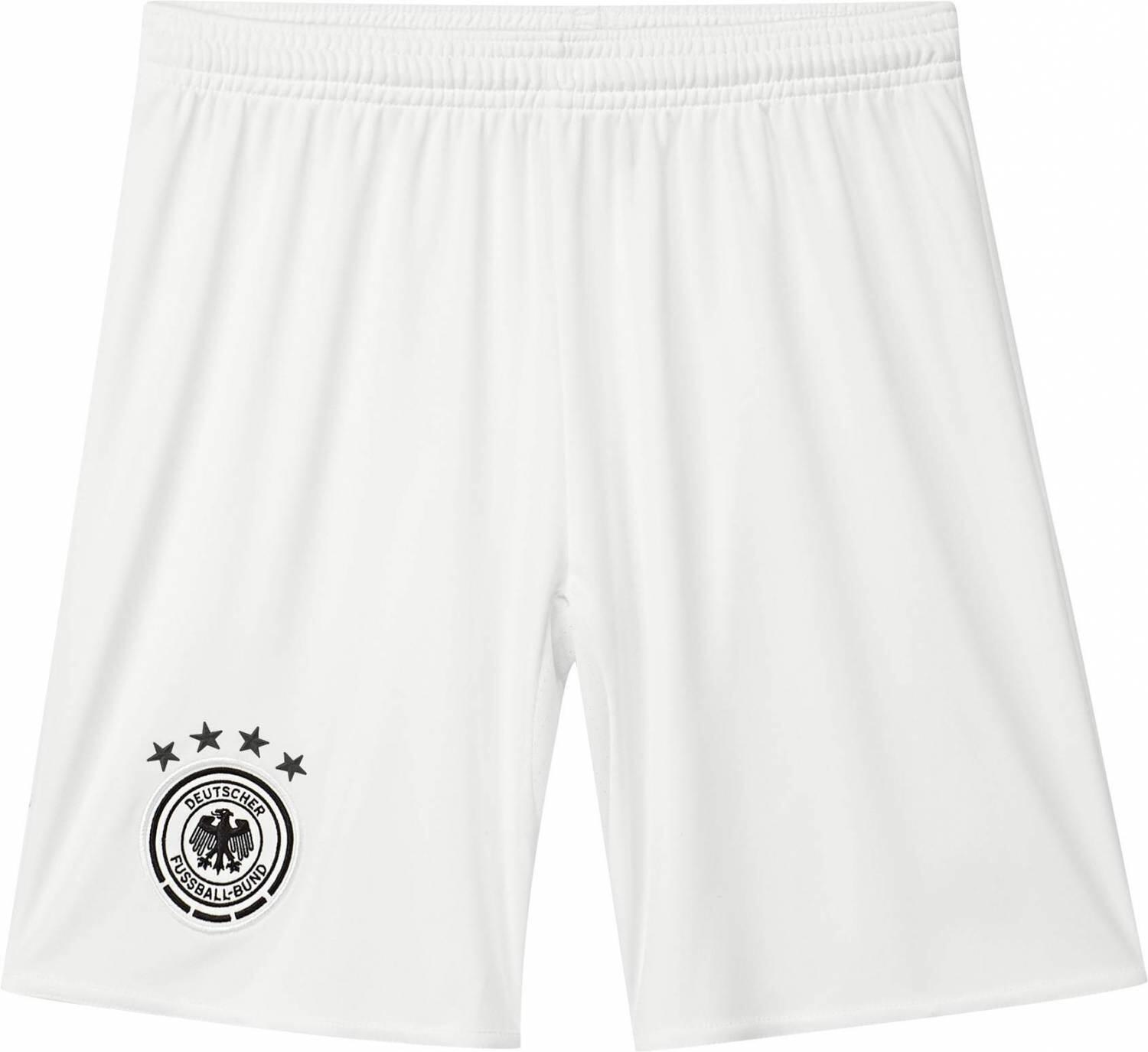 Boyssportmode - adidas DFB Away Short Youth Auswärtsshort Kinder (Größe 164, off white black) - Onlineshop Sportolino