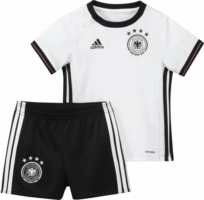 Babysets - adidas DFB Home Baby Kit Set EM 2016 (Größe 74, white black) - Onlineshop Sportolino