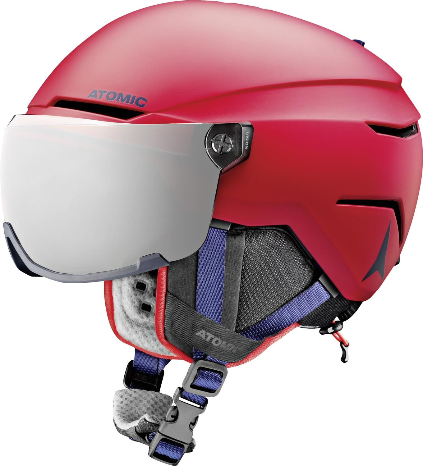 atomic-savor-visor-junior-skihelm-gr-ouml-szlig-e-51-55-cm-red-