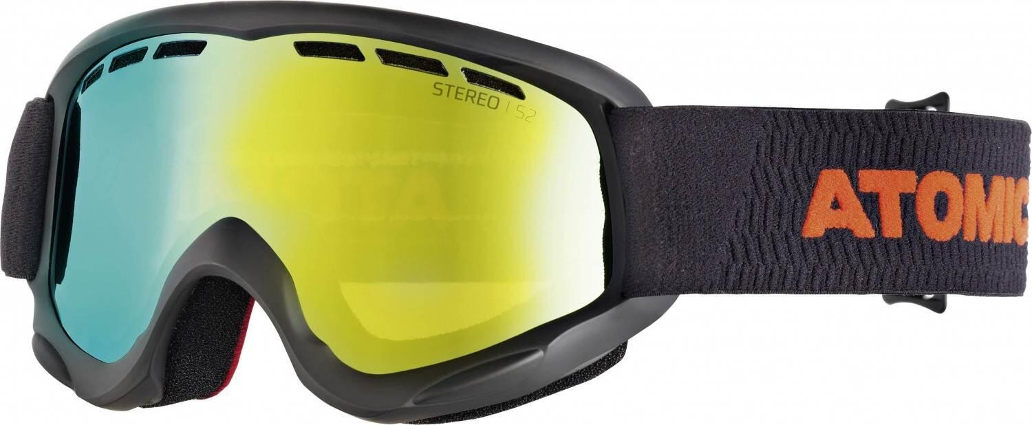 atomic-savor-junior-racer-stereo-skibrille-farbe-black-red-scheibe-red-stereo-