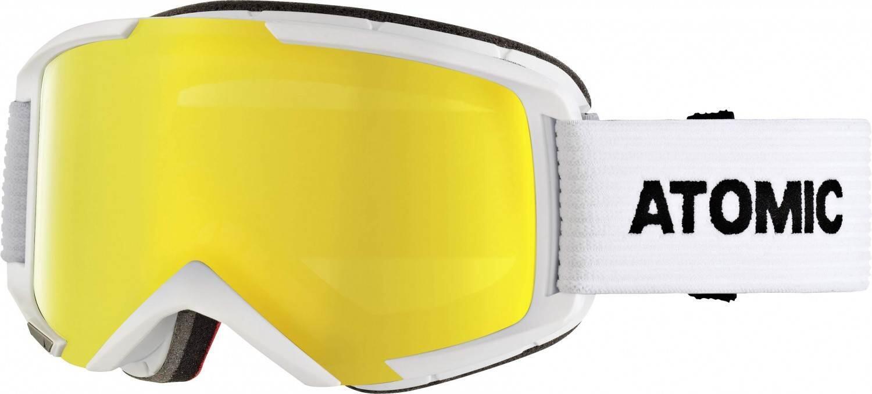 atomic-savor-m-stereo-brillentr-auml-ger-skibrille-farbe-white-scheibe-yellow-stereo-
