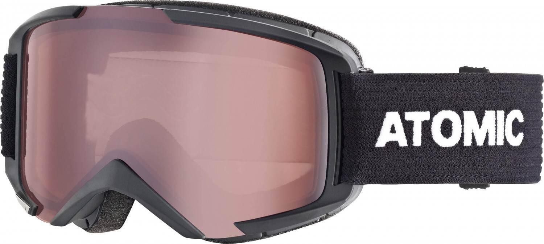 atomic-savor-medium-brillentr-auml-ger-skibrille-farbe-black-scheibe-silver-flash-