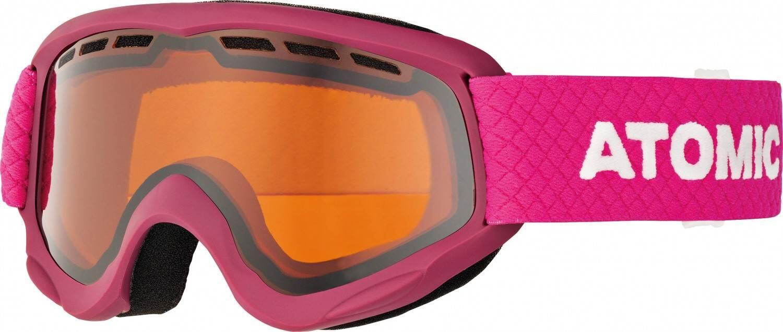atomic-savor-junior-skibrille-farbe-berry-pink-scheibe-orange-