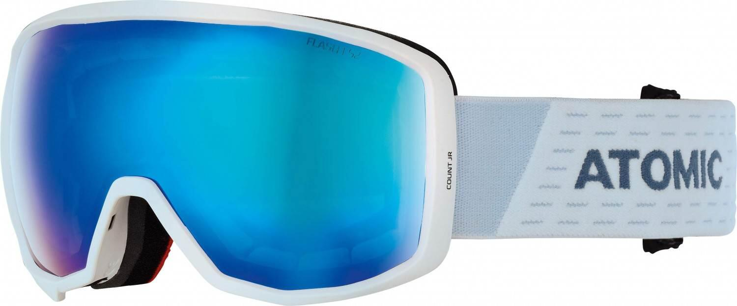 atomic-count-junior-spherical-skibrille-farbe-white-blue-scheibe-blue-flash-