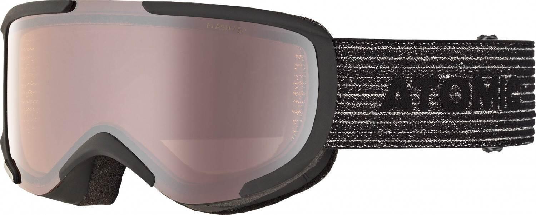 atomic-savor-skibrille-small-farbe-black-scheibe-silver-flash-