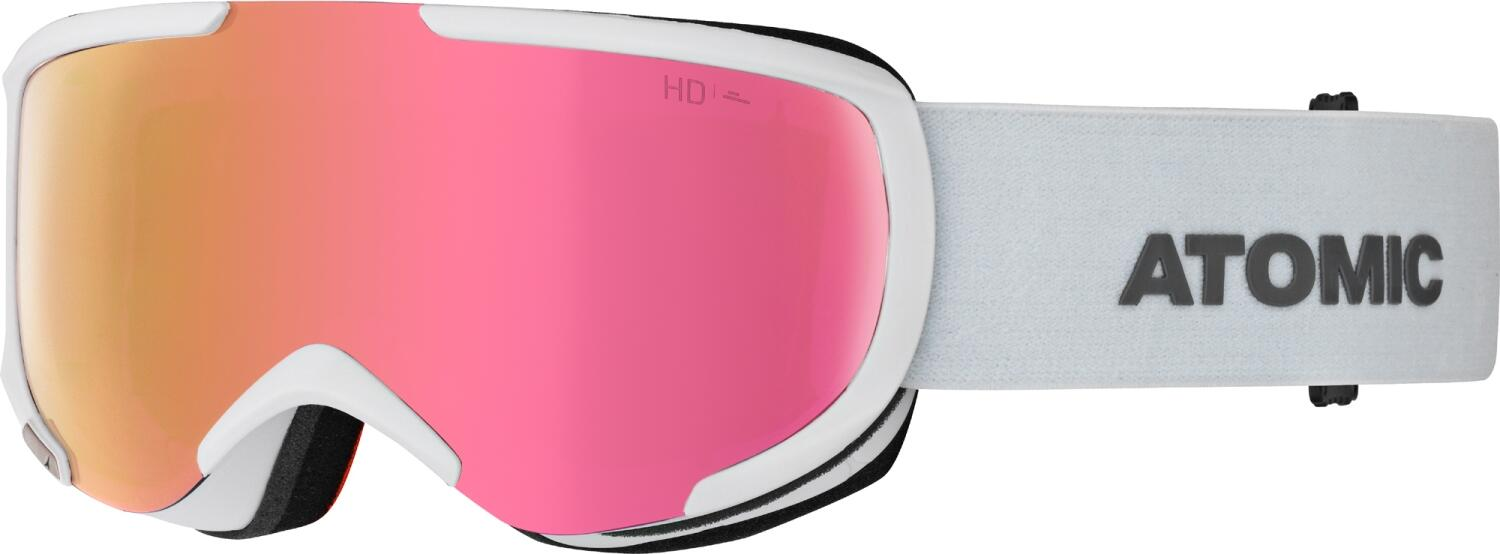 atomic-savor-small-hd-skibrille-farbe-white-scheibe-pink-copper-hd-