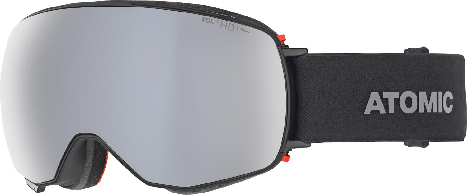atomic-revent-quick-click-hd-skibrille-farbe-black-scheibe-silver-hd-extra-lens-yellow-blue-hd-