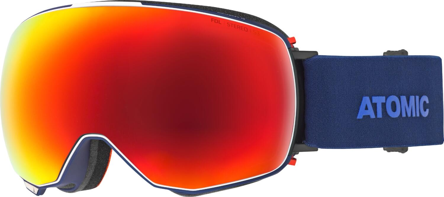 atomic-revent-quick-click-stereo-skibrille-farbe-blue-scheibe-red-stereo-extra-scheibe-pink-blue