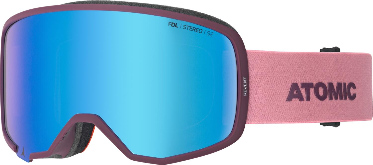 atomic-revent-stereo-skibrille-farbe-nightshade-rose-scheibe-blue-stereo-