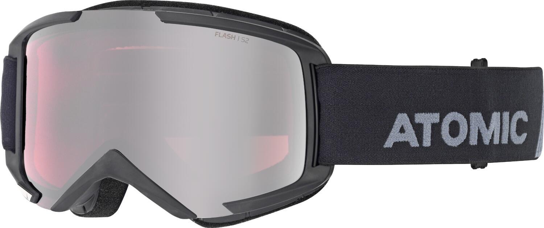 atomic-savor-m-brillentr-auml-ger-skibrille-farbe-black-scheibe-silver-flash-