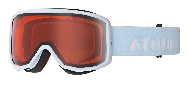 atomic-count-junior-skibrille-farbe-orange-skyline-white-scheibe-orange-