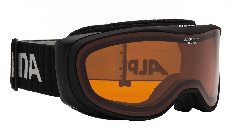 alpina-bonfire-2-0-dh-skibrille-farbe-131-schwarz-matt-scheibe-doubleflex-orange-