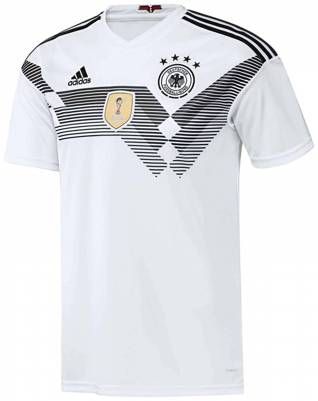 adidas DFB Home Jersey Deutschland (Größe: M, white/black)