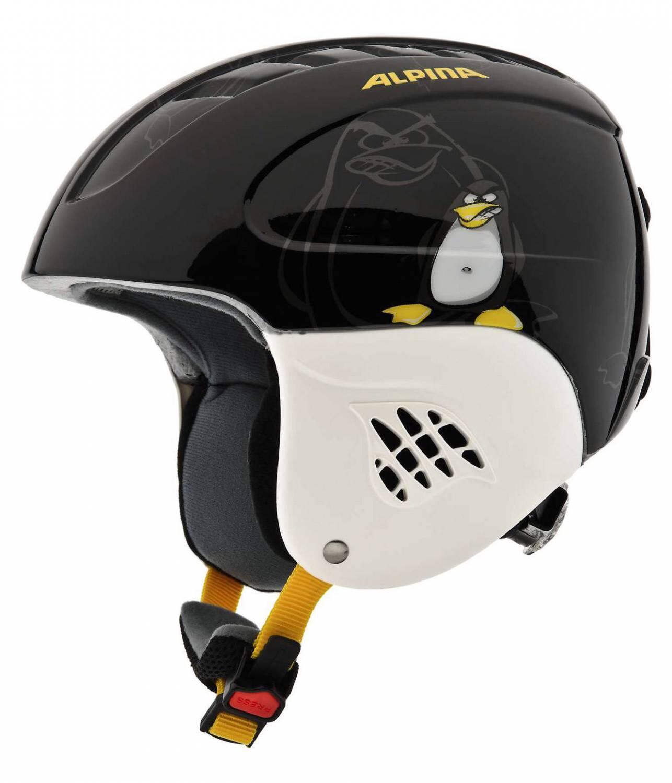 Fürski - Alpina Carat Kinder Skihelm (Größe 48 52 cm, 36 black pinguin) - Onlineshop