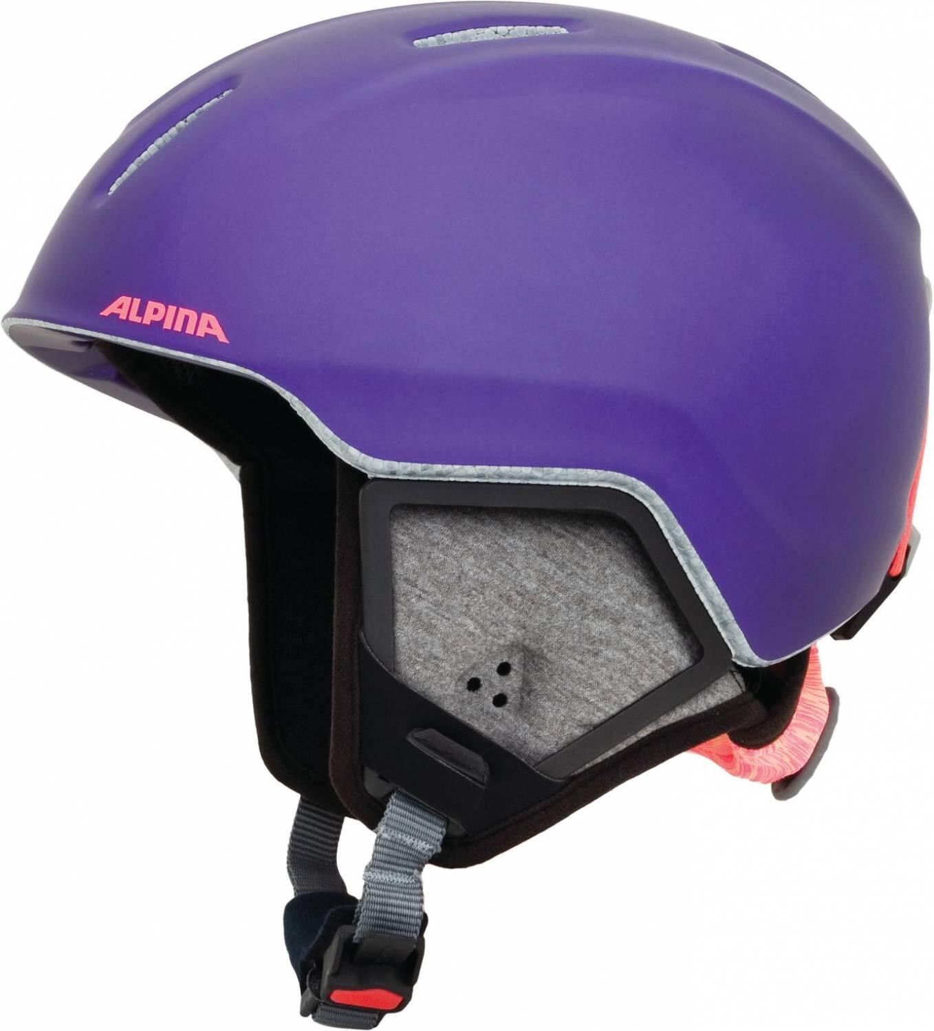Fürski - Alpina Carat XT Kinderskihelm (Größe 51 55 cm, 54 royal purple matt) - Onlineshop