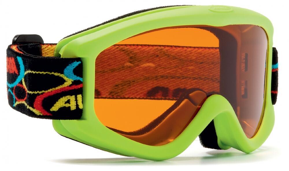 Fürski - Alpina Carvy 2.0 Kinderskibrille (Farbe 471 limone, Scheibe SINGLEFLEX tint (S2)) - Onlineshop