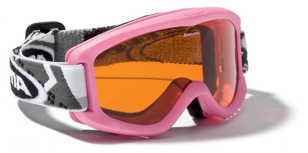 Fürski - Alpina Carvy 2.0 Kinderskibrille (Farbe 458 rose, Scheibe SINGLEFLEX tint (S2)) - Onlineshop
