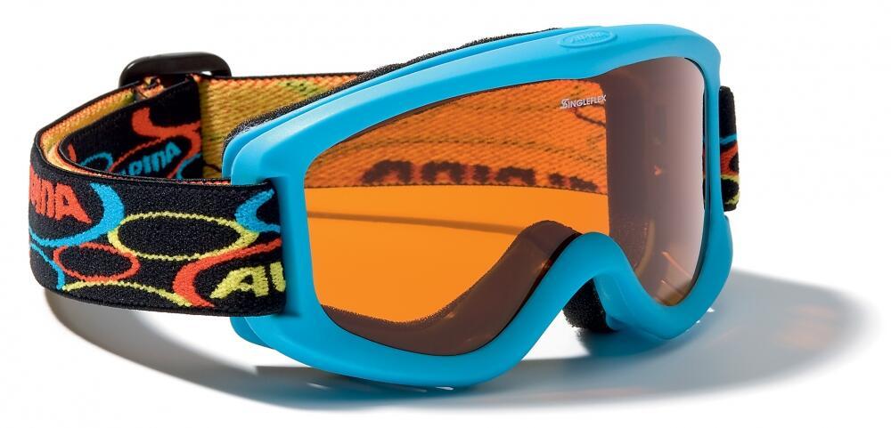 Fürski - Alpina Carvy 2.0 Kinderskibrille (Farbe 488 blau, Scheibe SINGLEFLEX tint (S2)) - Onlineshop