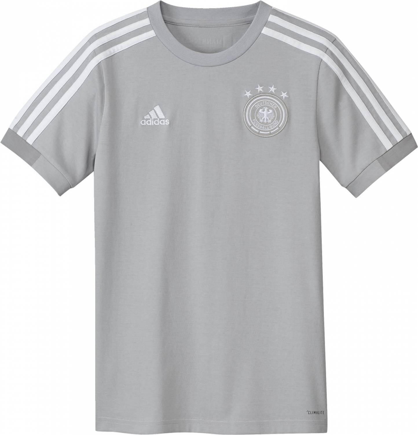 Miniboyssportmode - adidas DFB Trainings Tee Youth Trikot Kids (Größe 116, grey two f17 mgh solid grey white) - Onlineshop Sportolino