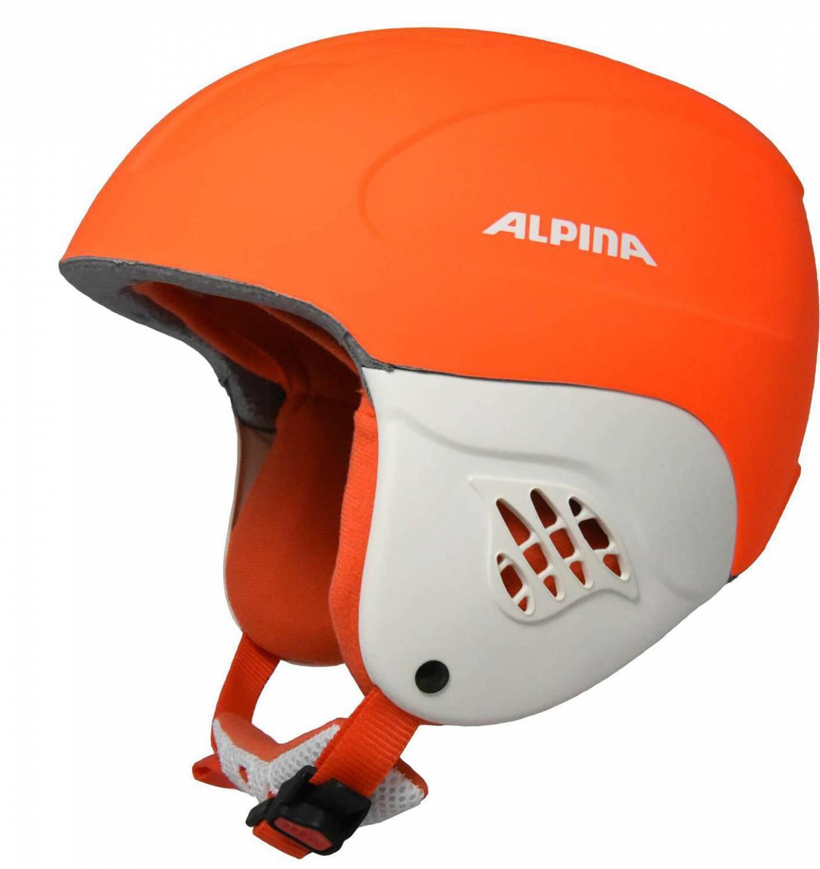 Fürski - Alpina Carat L.E. Kinderskihelm (Größe 48 52 cm, 40 orange race matt) - Onlineshop