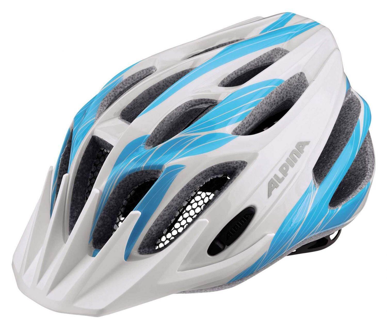 Fürfahrräder - Alpina Firebird Junior 2.0 Kinderfahrradhelm (Größe 50 55 cm, 13 white cyan) - Onlineshop