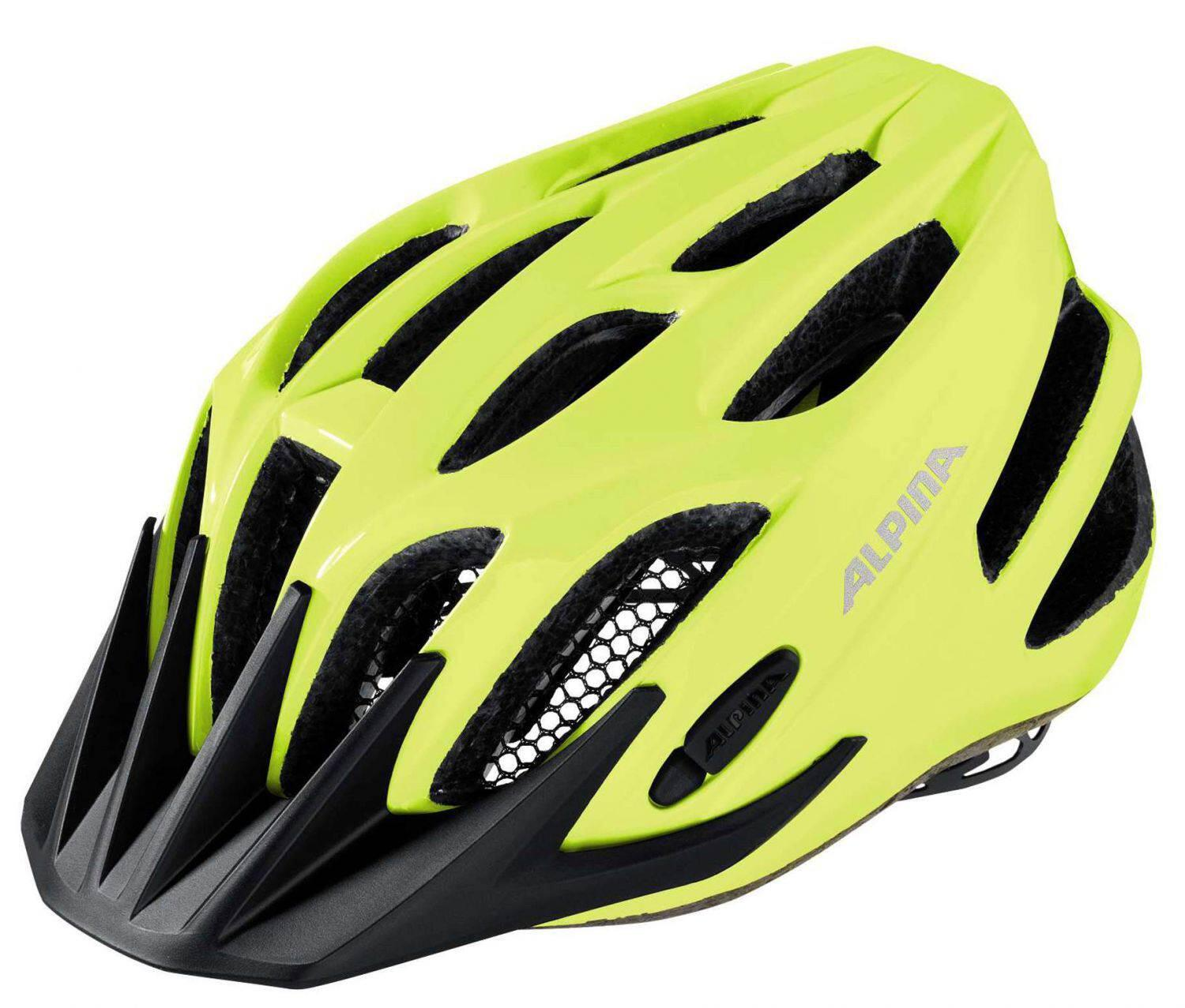 Fürfahrräder - Alpina Firebird Junior 2.0 Flash Radhelm (Größe 50 55 cm, 40 be visible reflective) - Onlineshop