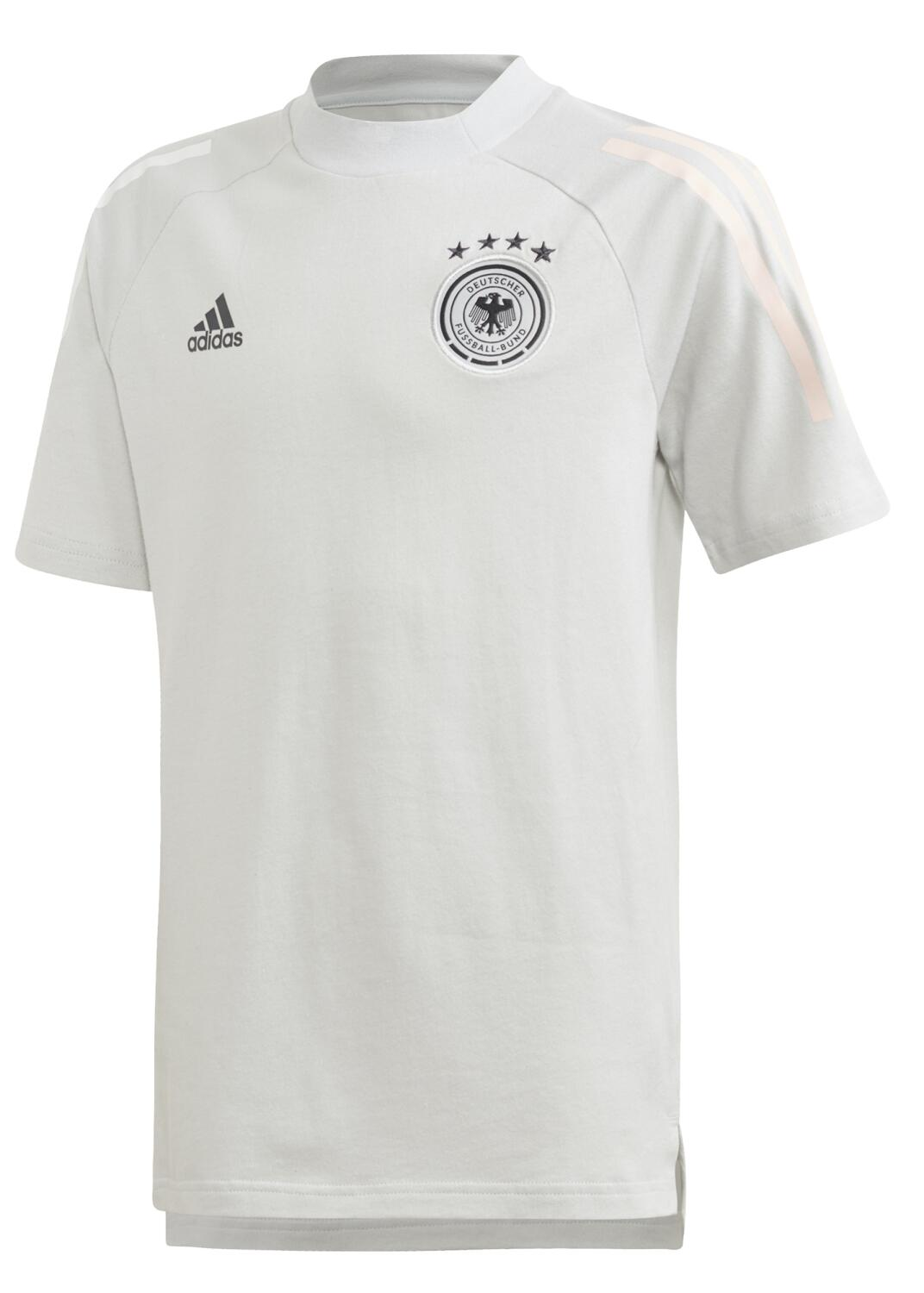 Boyssportmode - adidas DFB Trainings Tee Kindertrikot (Größe 164, clear grey) - Onlineshop Sportolino