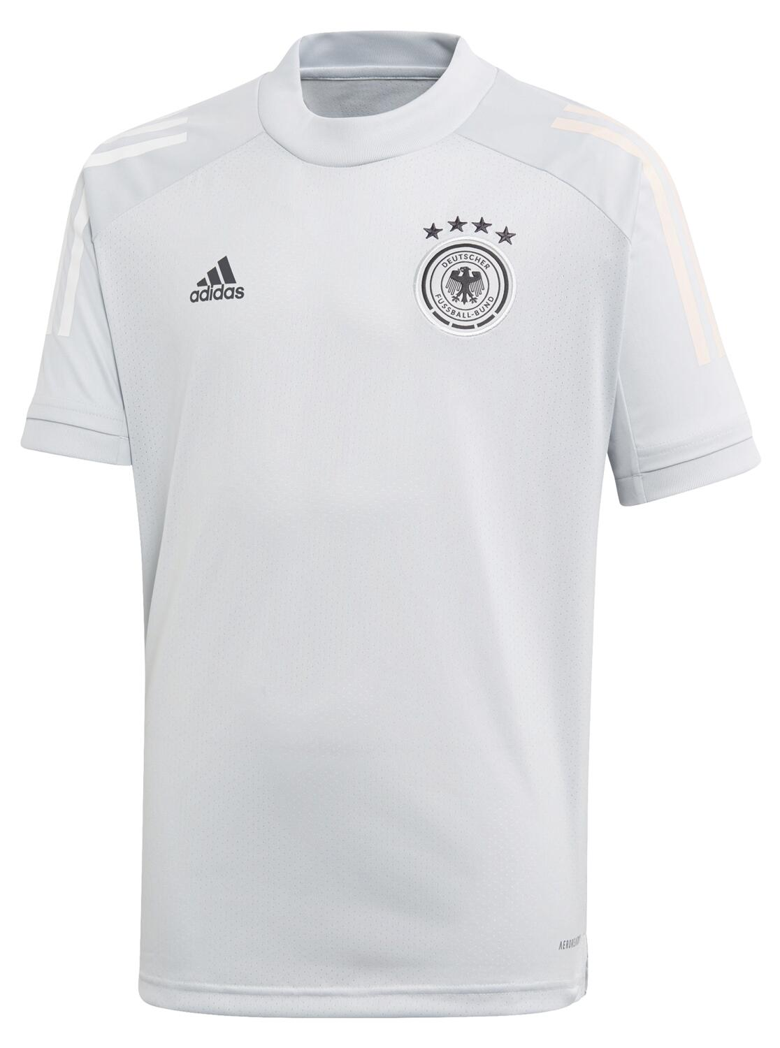 Boyssportmode - adidas DFB Trainingstrikot Kinder (Größe 164, clear grey) - Onlineshop Sportolino