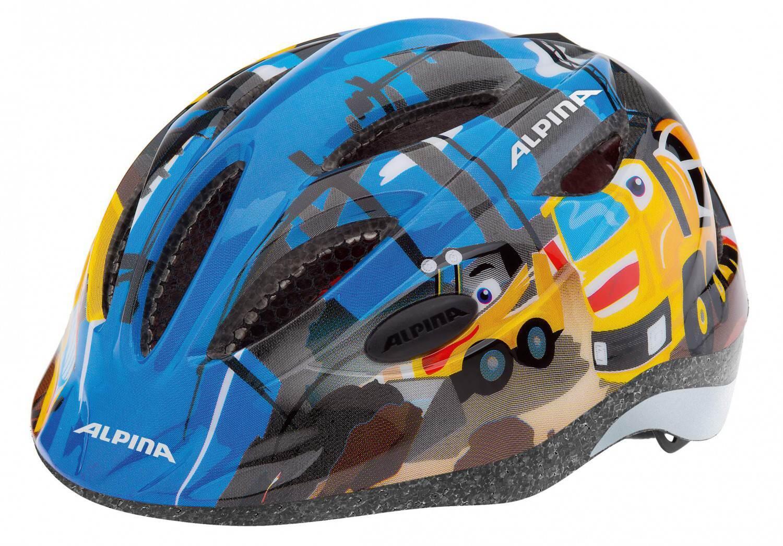 Fürfahrräder - Alpina Gamma 2.0 Kinder Fahrradhelm (Größe 51 56 cm, 35 construction) - Onlineshop