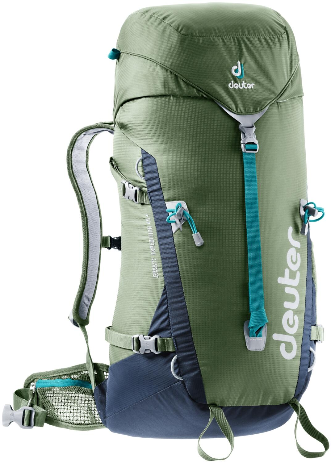 Deuter Gravity Expedition 45 Rucksack (Farbe: 2325 khaki/navy)