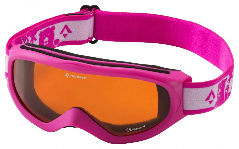 Fürski - TecnoPro Snowfoxy Junior Kinderskibrille (Farbe 901 pink weiß) - Onlineshop