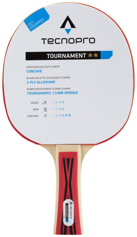 tecnopro-tournament-2-stern-tischtennisschl-auml-ger-farbe-900-schwarz-rot-