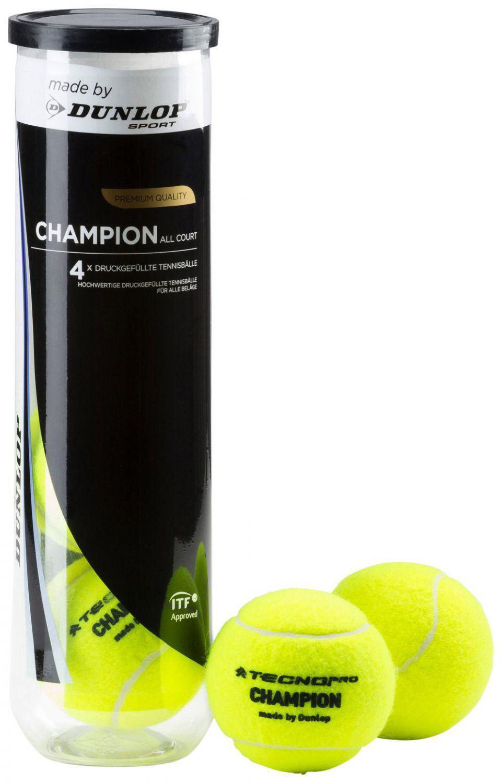 TecnoPro Champion Allcourt Tennisbälle (Farbe: 700 gelb)