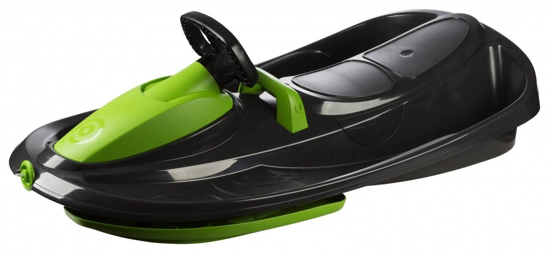 Schlitten - Gizmo Riders Bob Stratos Lenkschlitten (Farbe 900 schwarz grün) - Onlineshop