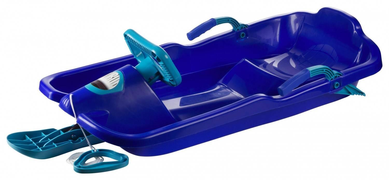 Schlitten - Plastkon Bob Skibob Schlitten (Farbe 059 blau) - Onlineshop