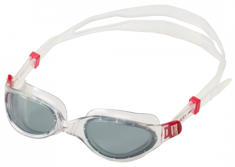 speedo-futura-plus-schwimmbrille-farbe-3557-red-smoke-