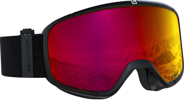 salomon-four-sevensigma-skibrille-farbe-black-scheibe-sigma-poppy-red-
