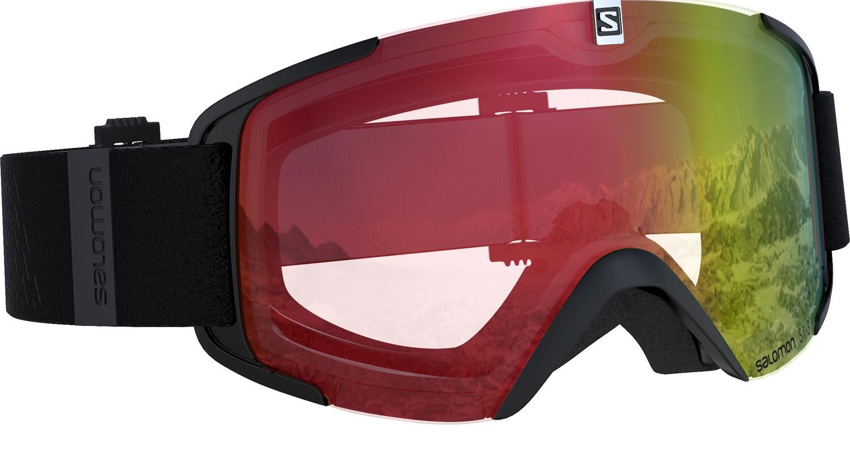 salomon-xview-photo-skibrille-farbe-black-scheibe-photochromic-red-