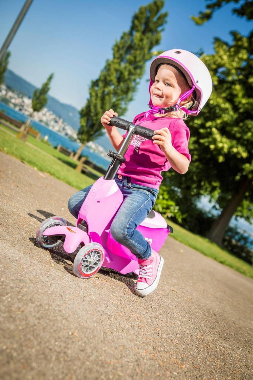 Roller - Micro Mini2go sporty Kinderkickboard (Farbe pink) - Onlineshop