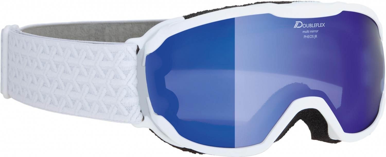 alpina-pheos-junior-mirror-skibrille-farbe-811-white-scheibe-mirror-blue-s3-