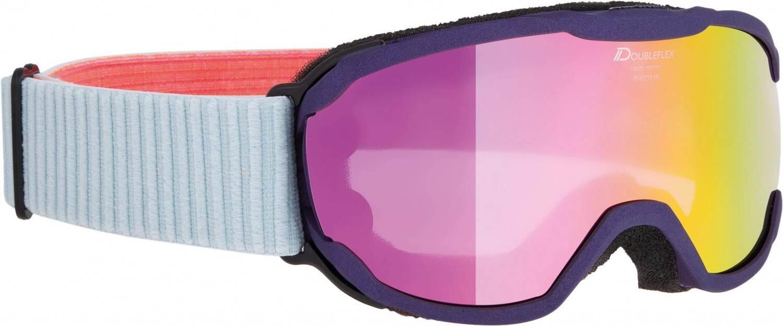 alpina-pheos-junior-mirror-skibrille-farbe-854-purple-scheibe-mirror-pink-