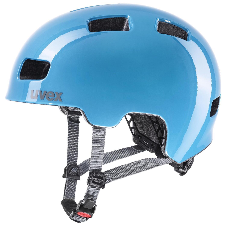 Fürfahrräder - uvex HLMT 4 Kinder Fahrradhelm (Farbe 55 58 cm, 05 ocean grey) - Onlineshop